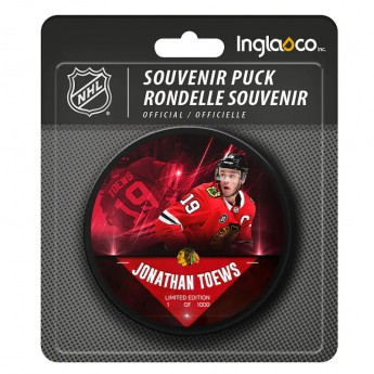 Chicago Blackhawks puk Jonathan Toews #19 Exclusive Player Hockey Puck - Limited Edition of 1000