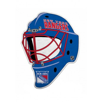 New York Rangers vlajka Goalie Mask Pennant Fanion
