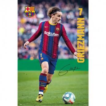 FC Barcelona plakát Griezmann 19