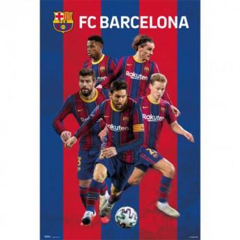FC Barcelona plakát Players 30