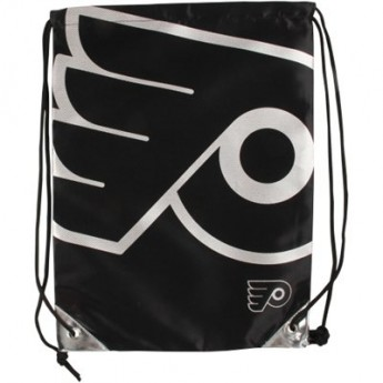 Philadelphia Flyers pytlík gym bag NHL Metallic Drawstring