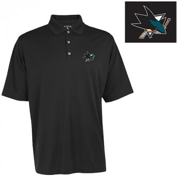 San Jose Sharks Polo Exceed černé