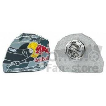 Red Bull odznáček helmet