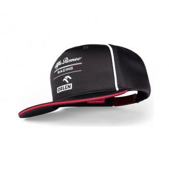 Alfa Romeo Racing čepice flat kšiltovka Orlen black F1 Team 2021