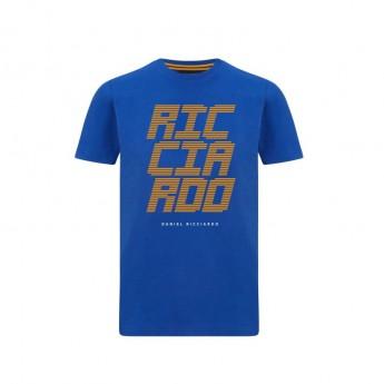 2021 Team McLaren F1 Kids Ricciardo Blue T-Shirt