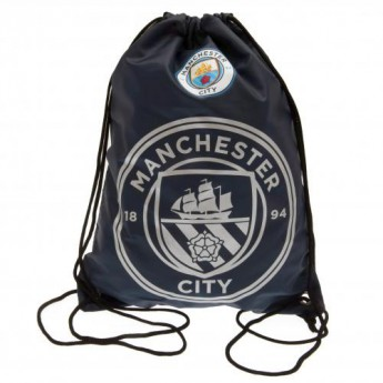 Manchester City gymsak dark logo