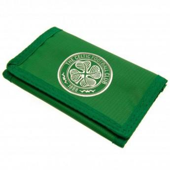 FC Celtic peněženka z nylonu Nylon wallet green