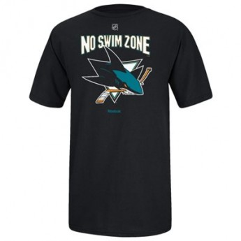 San Jose Sharks Tričko No Swim Zone