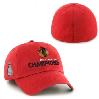 Chicago Blackhawks Kšiltovka 2015 Stanley Cup Champions Franchise RED