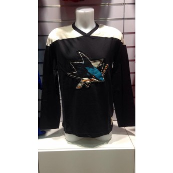 San Jose Sharks Tričko Long Sleeve Crew 15