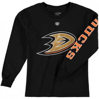 Anaheim Ducks Dětské tričko Old Time Hockey Two Hit Long Sleeve
