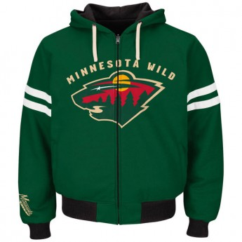 Minnesota Wild mikina Carl Banks Legend Reversible Hoodie