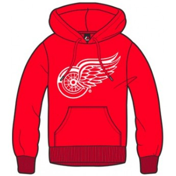 Detroit Red Wings Mikina Majestic Bember Hoody