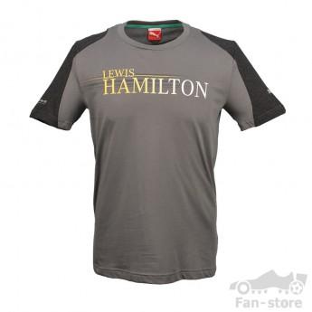 Puma Mercedes AMG Petronas pánské tričko Hamilton grau