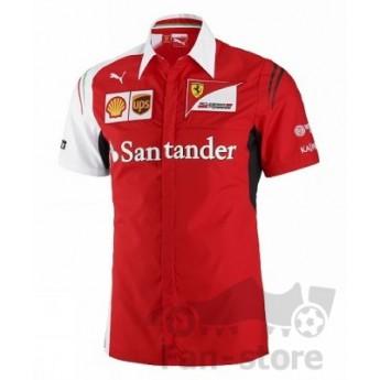 Puma Ferrari pánská košile rosso squadra
