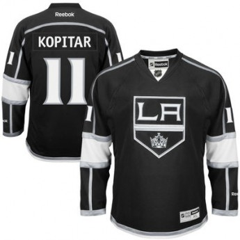 Los Angeles Kings Dres Anze Kopitar Premier Jersey Home