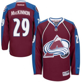 Colorado Avalanche Dres Nathan MacKinnon Premier Jersey Home