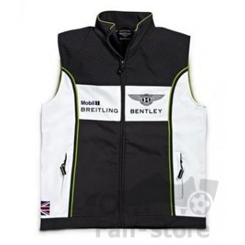 Bentley pánská vesta softshell black