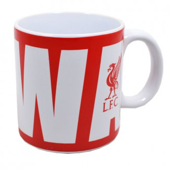 FC Liverpool velký hrnek Wordmark
