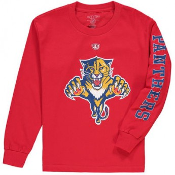 Florida Panthers dětské tričko Two Hit long Sleeve