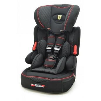 Scuderia Ferrari autosedačka BeLine GT Black 9-36 kg