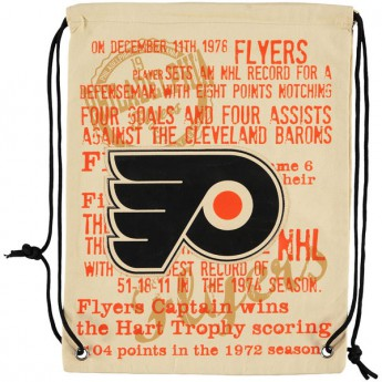 Philadelphia Flyers pytlík gym bag Historic Canvas Drawstring