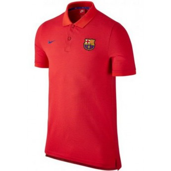 FC Barcelona pánské polo tričko červené GS SLIM