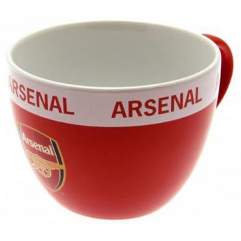 FC Arsenal hrnek Cappuccino logo