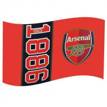 FC Arsenal vlajka red 1886