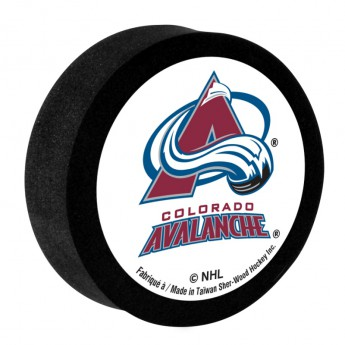 Colorado Avalanche Pěnový puk White Sher-Wood