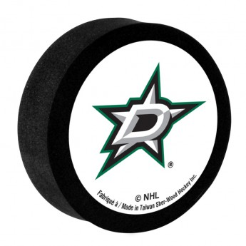 Dallas Stars Pěnový puk White Sher-Wood