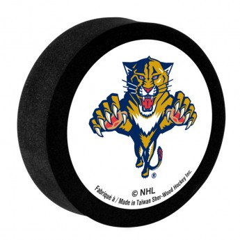Florida Panthers Pěnový puk White Sher-Wood
