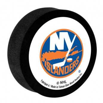 New York Islanders Pěnový puk White Sher-Wood