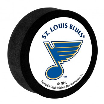 St. Louis Blues Pěnový puk White Sher-Wood