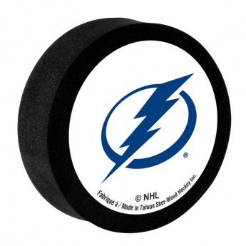 Tampa Bay Lightning Pěnový puk White Sher-Wood