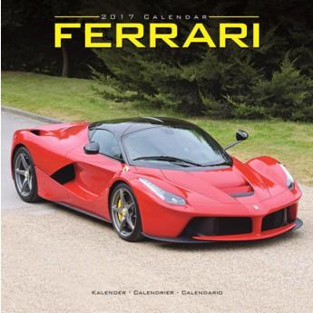Ferrari Kalendář 2017 Moto