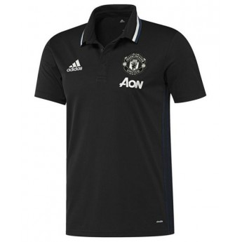 Manchester United pánské polo tričko trg black