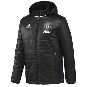 Manchester United pánská zimní bunda pad jkt black