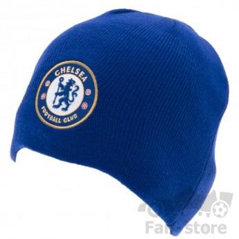 FC Chelsea zimní čepice blue logo