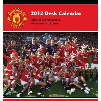 Manchester United kalendár 2012