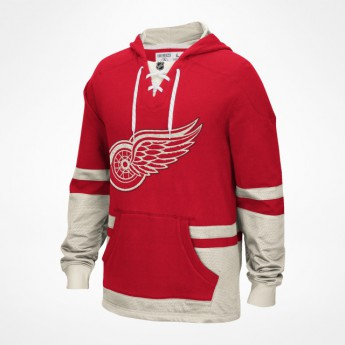 Detroit Red Wings Mikina Retro Pullover Hood 2016