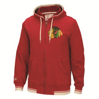 Chicago Blackhawks Mikina Full Zip Hood 2016