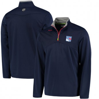 New York Rangers pánská mikina Center Ice Quarter Zip Baselayer