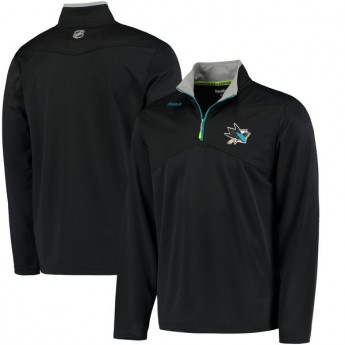San Jose Sharks pánská mikina Center Ice Quarter Zip Baselayer