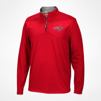 Washington Capitals pánská mikina Center Ice Quarter-Zip Baselayer