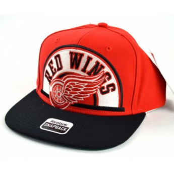 Detroit Red Wings čepice flat kšiltovka Arched Snapback