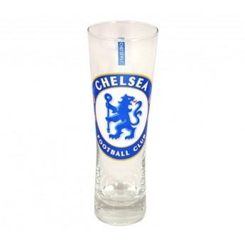 FC Chelsea sklenice logo