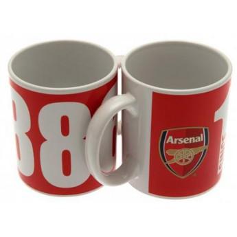 FC Arsenal keramický hrnek club 1886