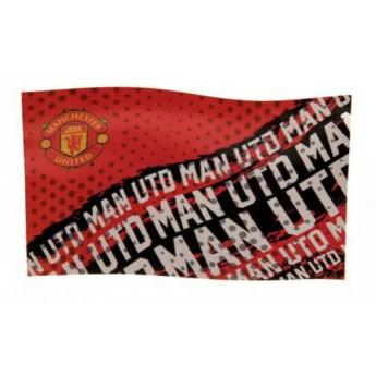 Manchester United velká vlajka devils mania