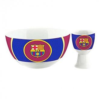 Barcelona snídaňový set fcb